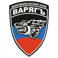 """Наклейка ДНР Добровольческий полк """"Варяг"""""""