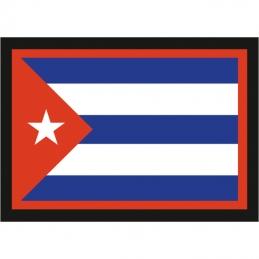 "Наклейка ""Флаг Кубы"""