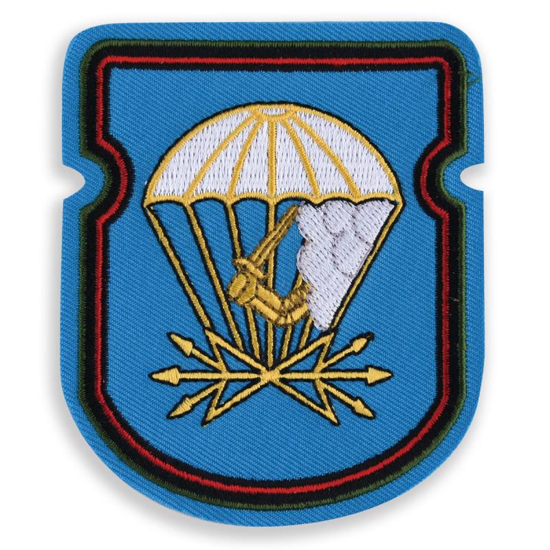 """Нарукавный знак """"674 батальон связи 98 ВДД ВДВ"""" вышитый по новым технологиям"""