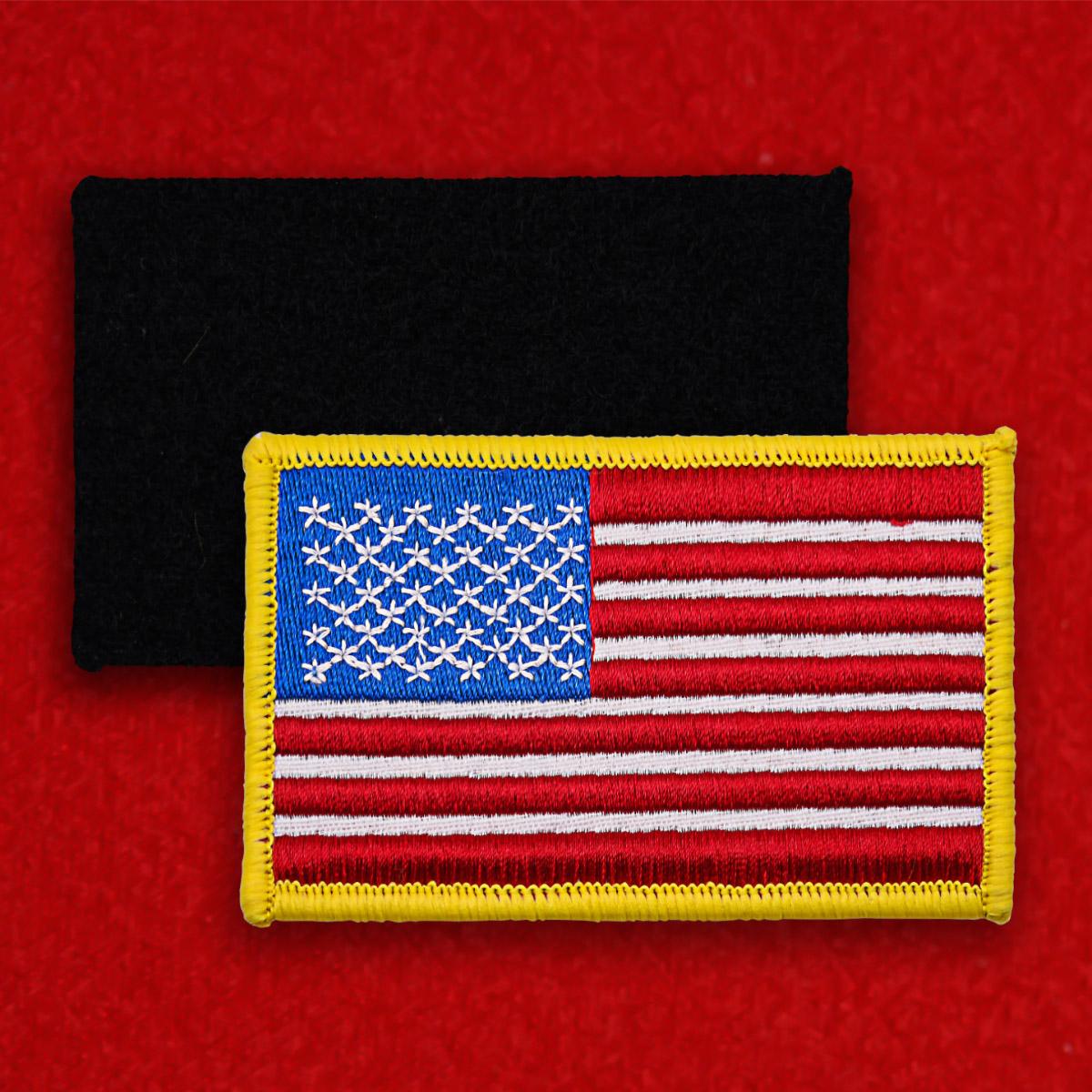 """Нашивка """"Американский флаг"""""""