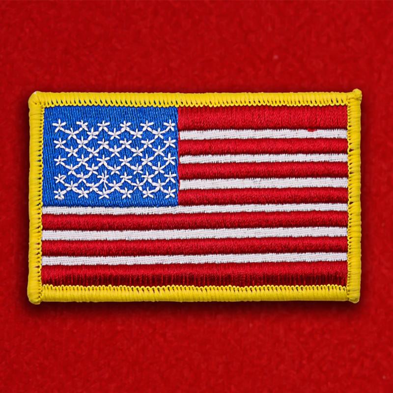 """Заказывайте нашивки """"Американский флаг"""" с доставкой"""