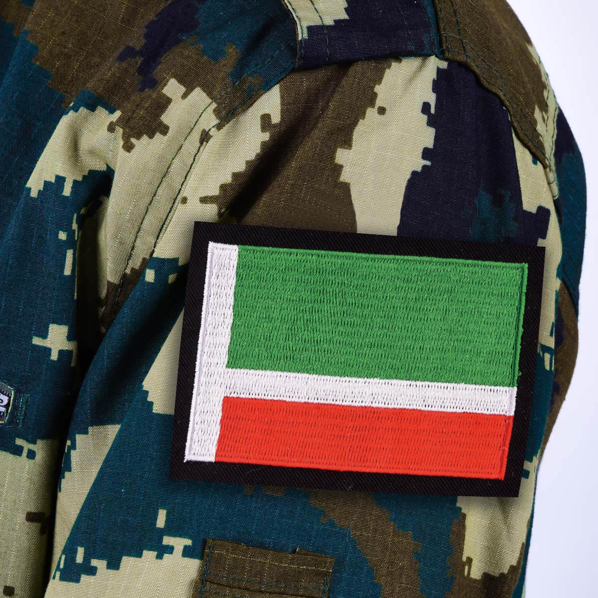 Нашивка флаг Чечни