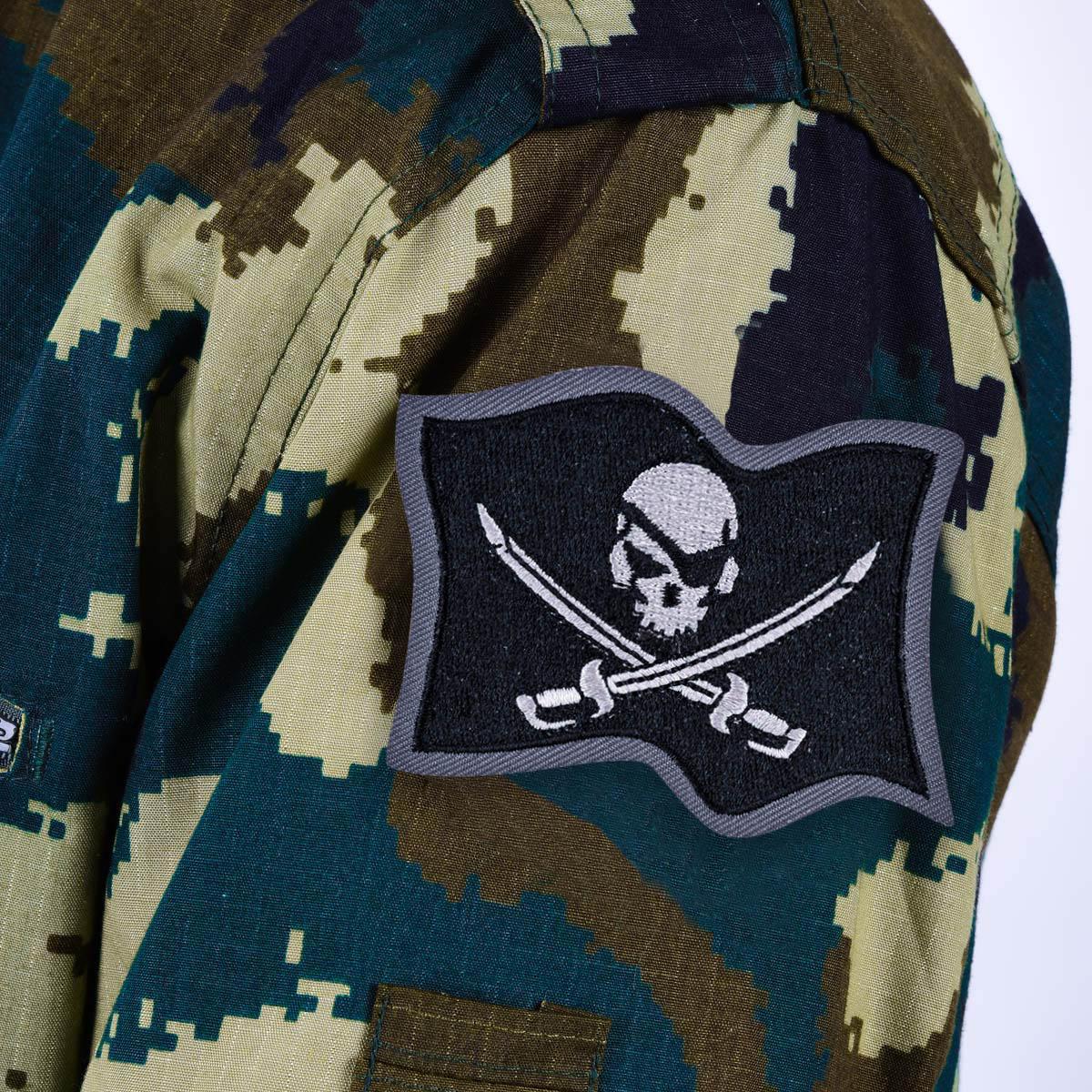 """Нашивка """"Пиратский флаг"""""""