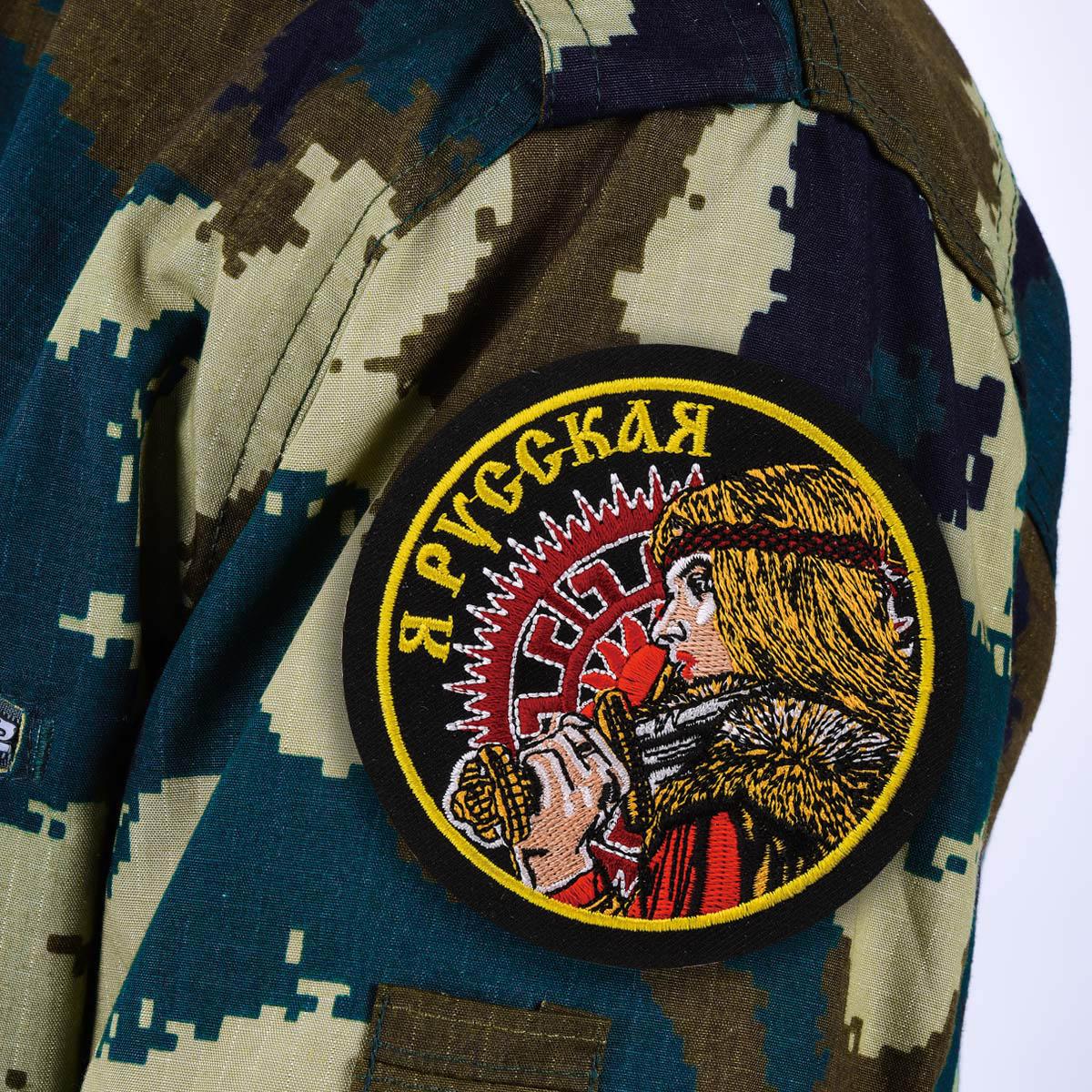 Нашивка Русская патриотка