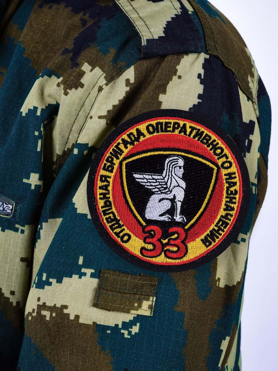 """Нашивка ВВ """"33 Отдельная бригада Оперативного Назначения"""""""