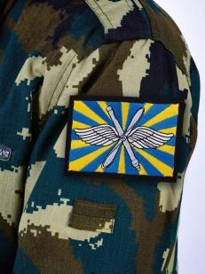 Нашивка ВВС РФ - на одежде