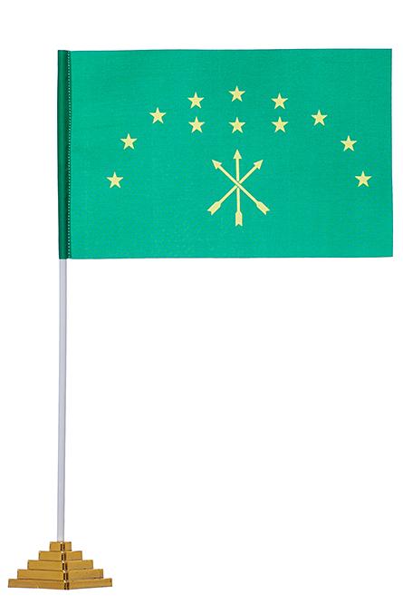 Настольный флаг Адыгеи