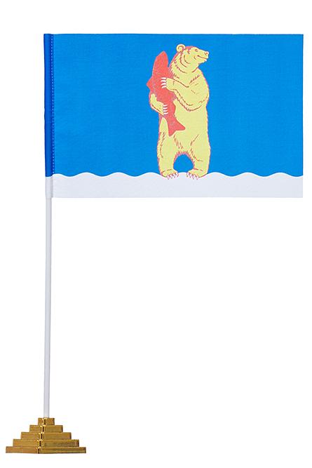Настольный флаг Анадыря