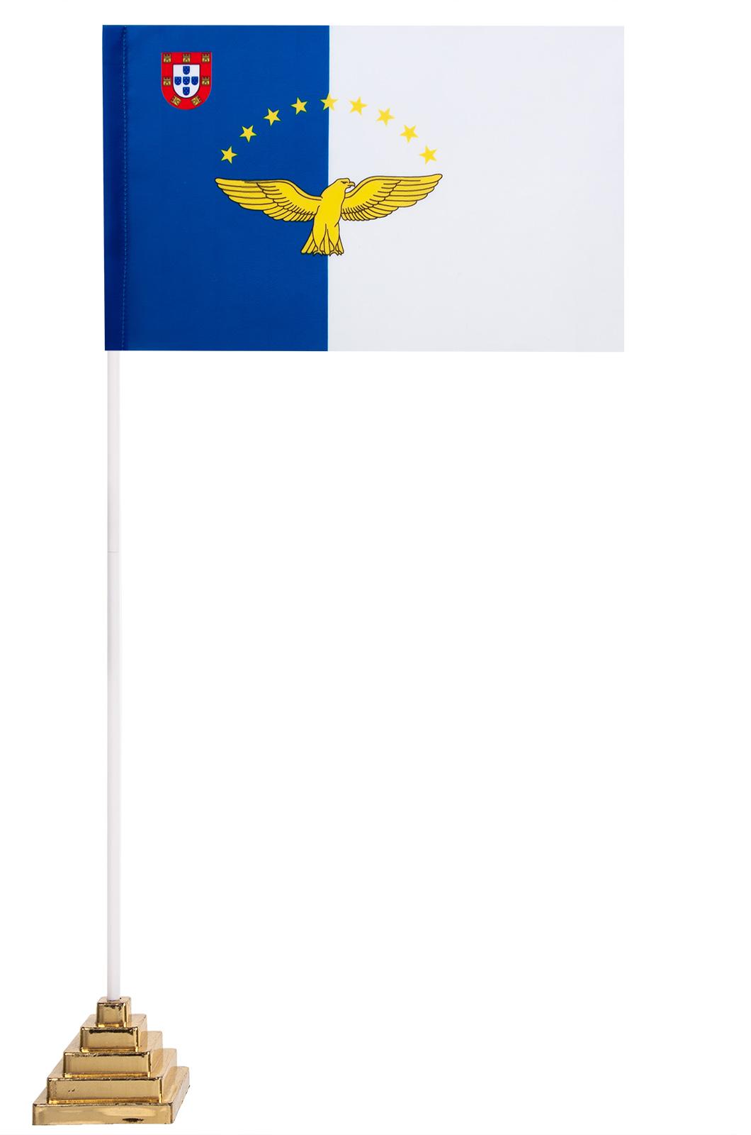 Настольный флаг Азорских островов