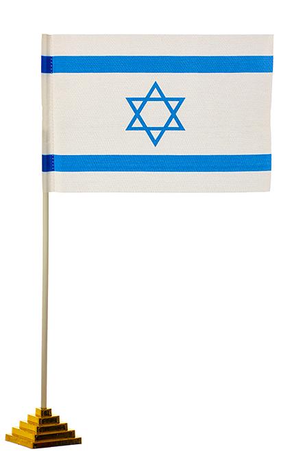 Настольный флаг Израиля