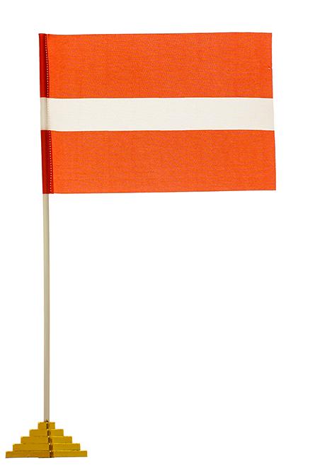 Настольный флаг Латвии