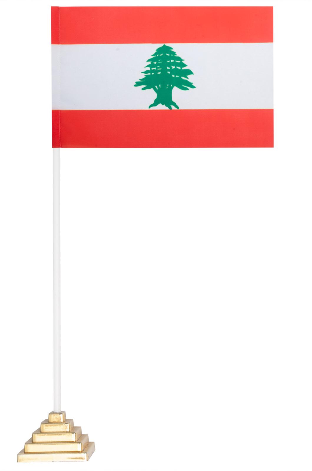 Настольный флаг Ливана