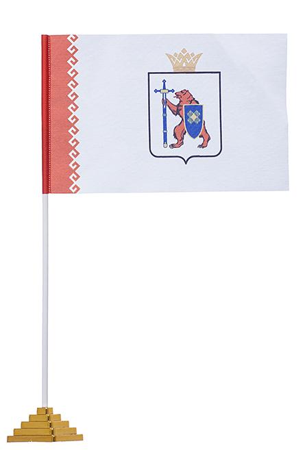 Настольный флаг Марий Эл