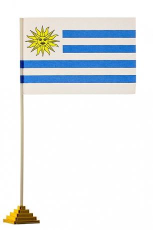 Настольный флаг Уругвая