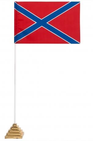 Настольный красно-синий флажок Новороссии