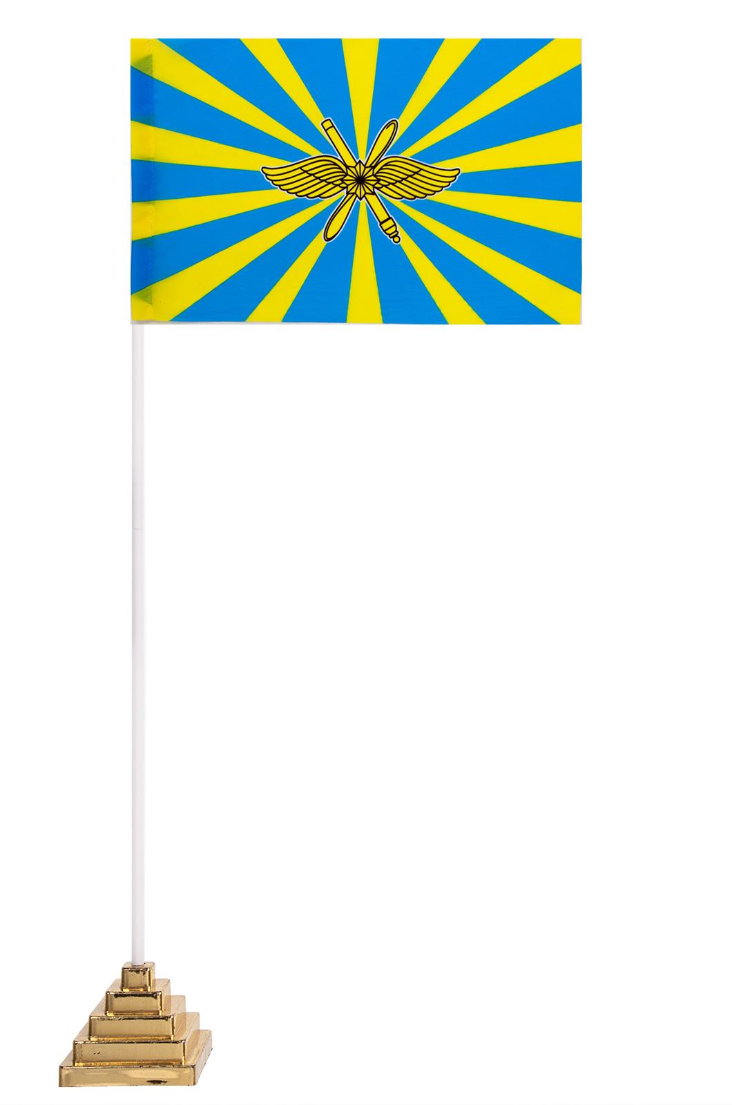 Настольный новый флаг ВКС РФ