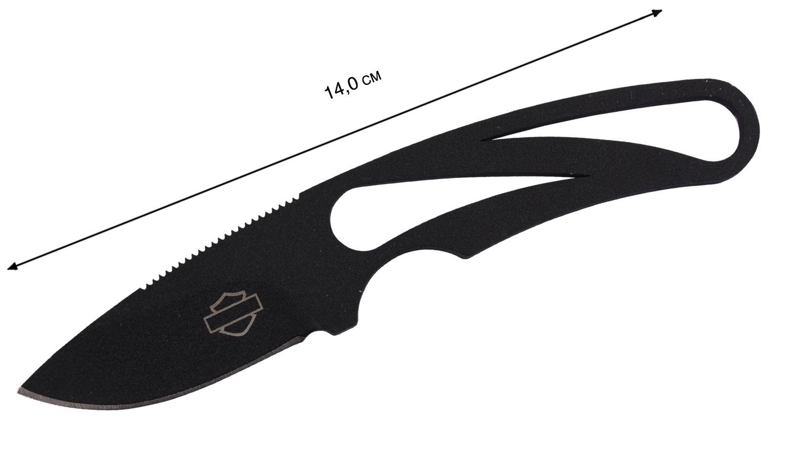 """Нож Harley-Davidson """"Tether"""" Black - купить по низкой цене"""