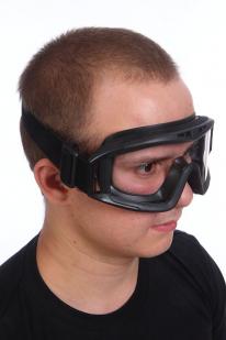 Очки защитные с прозрачным стеклом