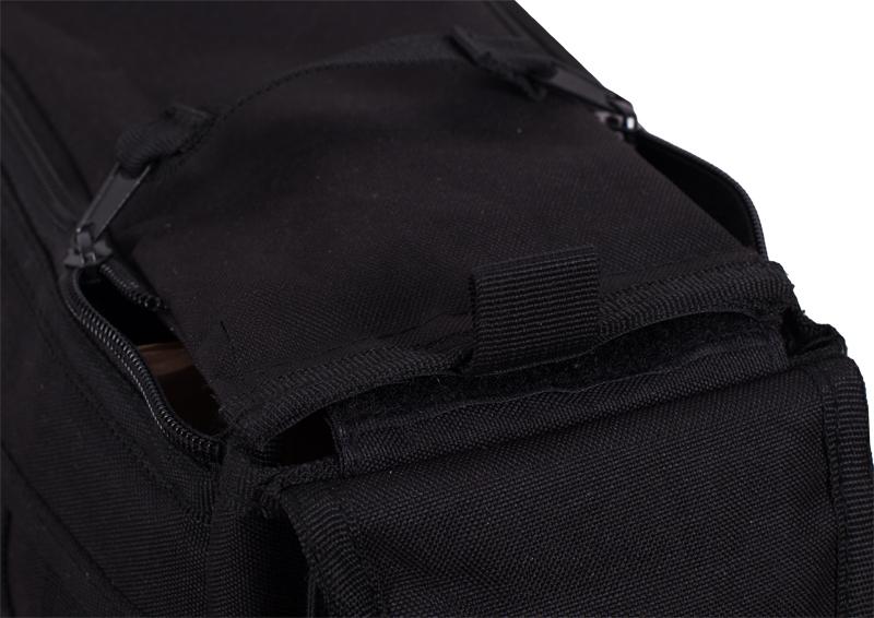 Однолямочный тактический рюкзак черный