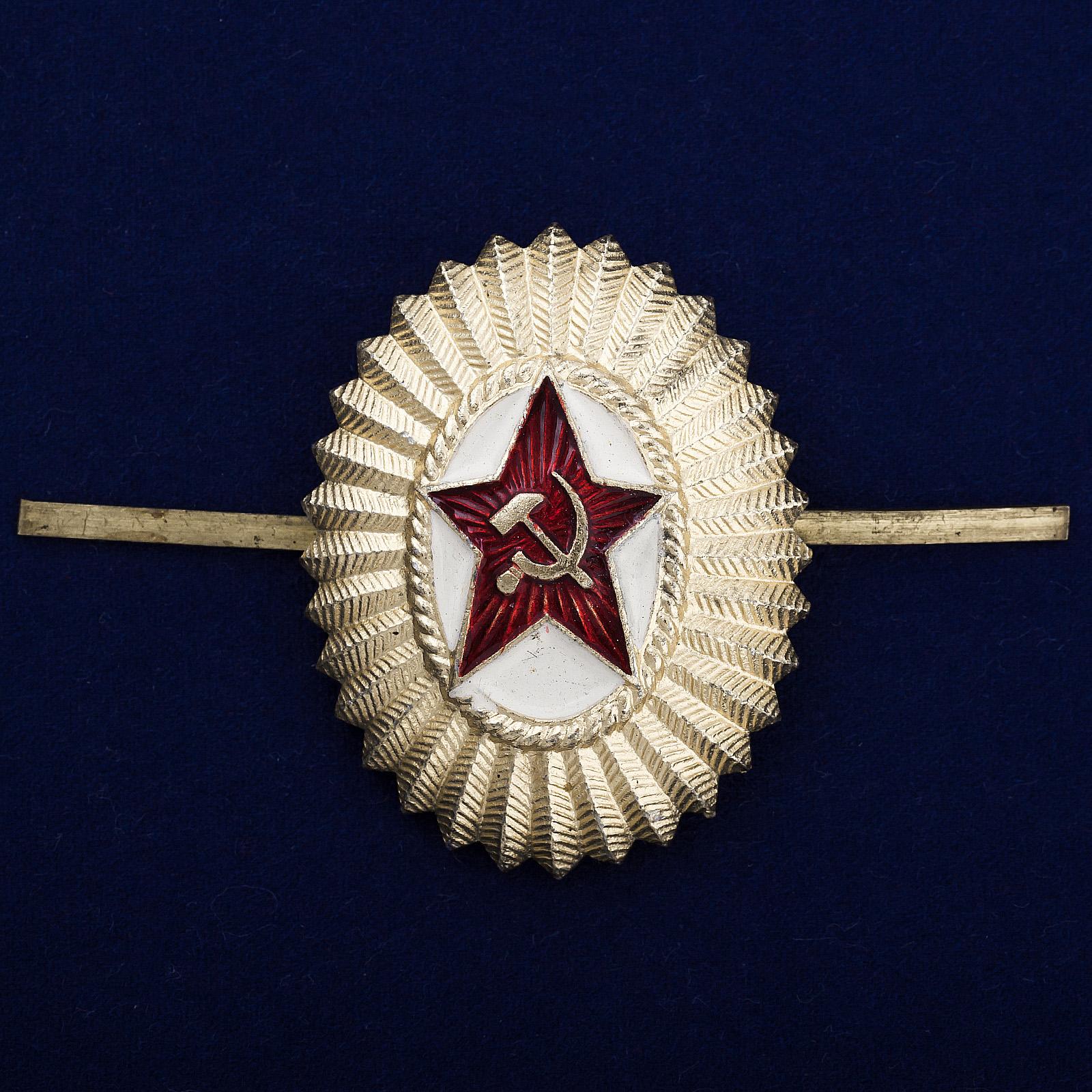 Офицерская кокарда СССР