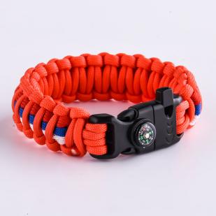 Купить оранжевый браслет