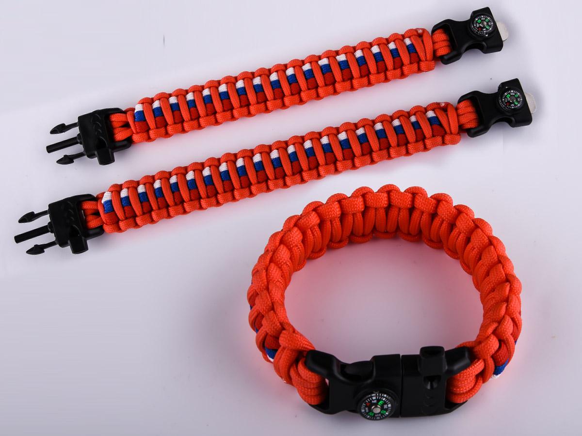 Высококачественный оранжевый браслет
