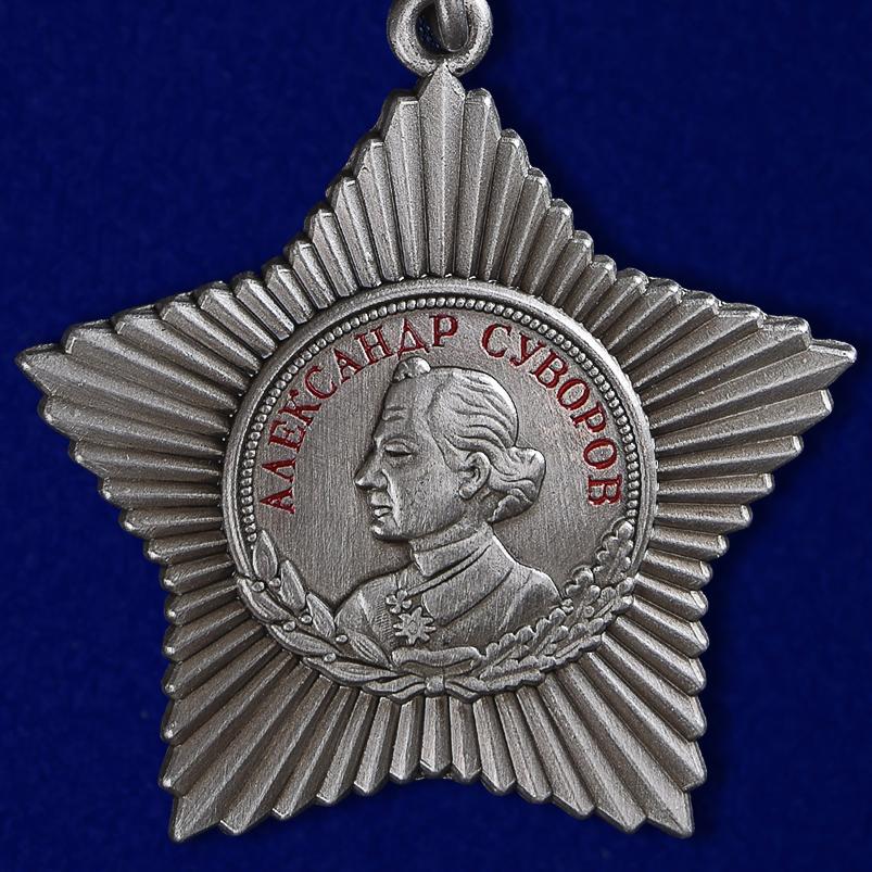 Описание ордена Суворова III степени на колодке