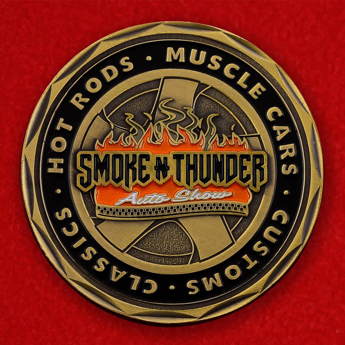 """Памятная монета """"Авиашоу Smoke-n-Thunder, Региональный аэропорт Ричард Б. Рассел"""""""