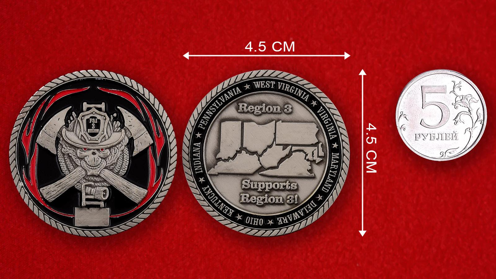 Памятная монета финансово-страховых учреждений региона Великих Озер