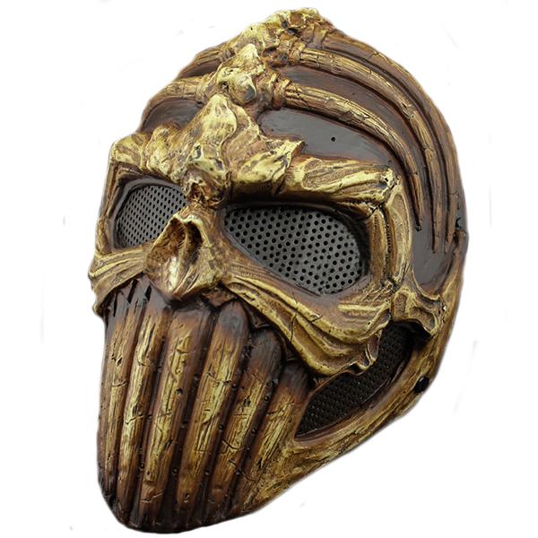 Пейнтбольная маска-череп