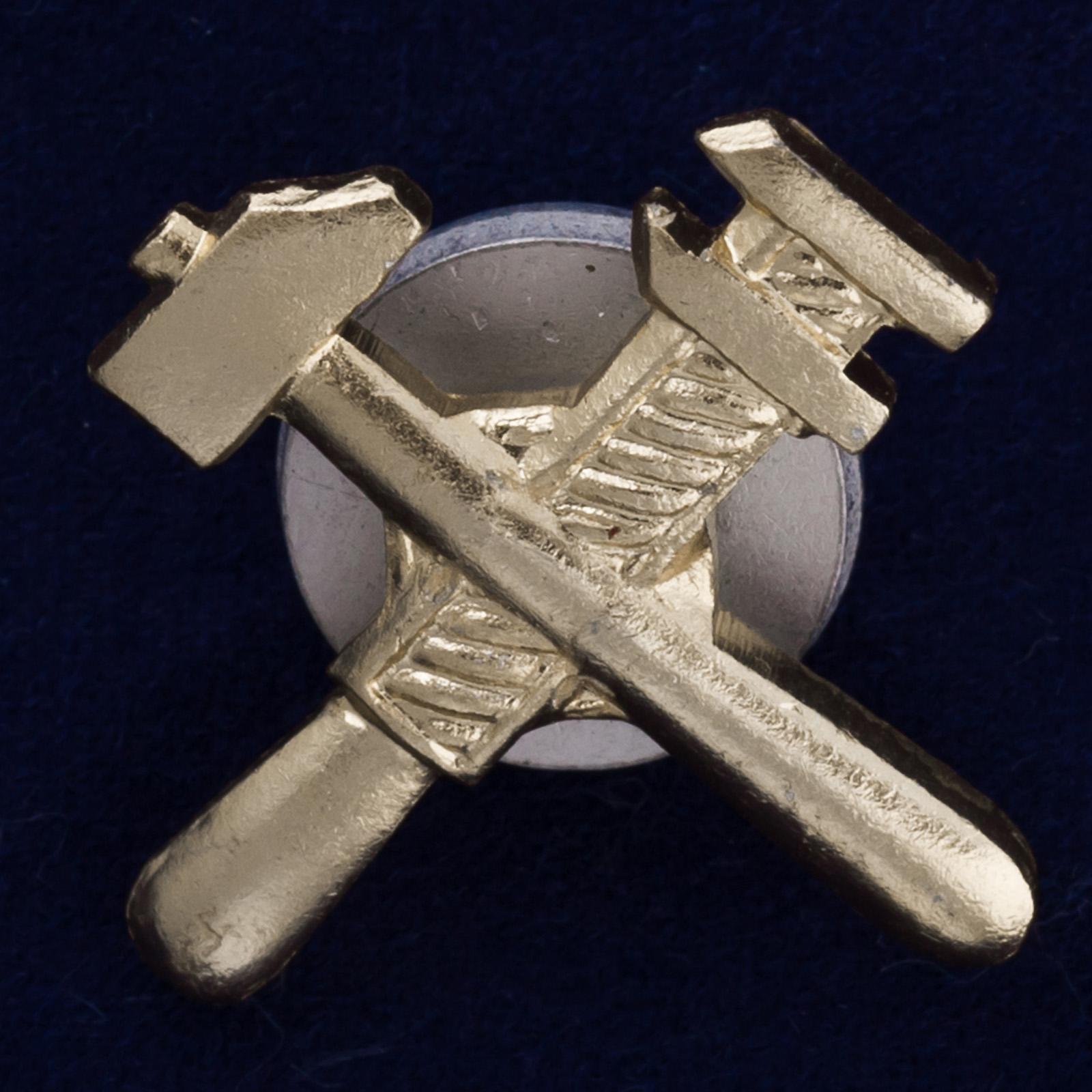 Петличный знак военно-технического состава СА