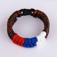 Плетёный браслет из верёвок