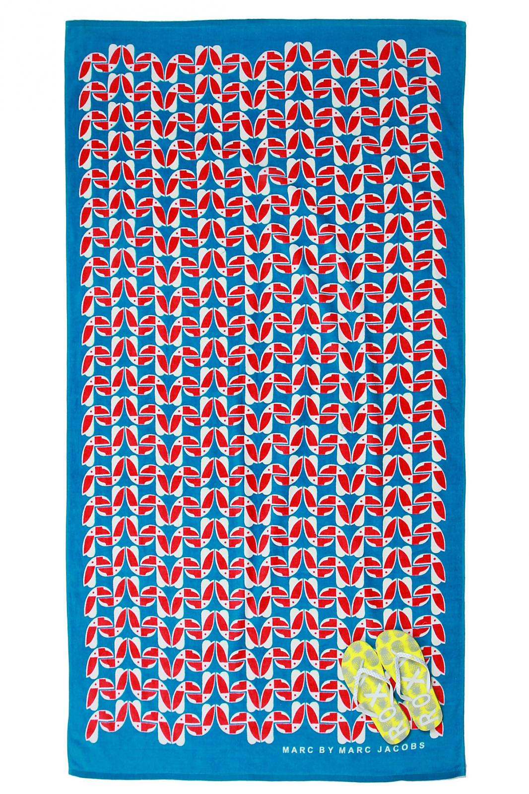 Брендовые пляжные полотенца Marc Jacobs оптом со скидками