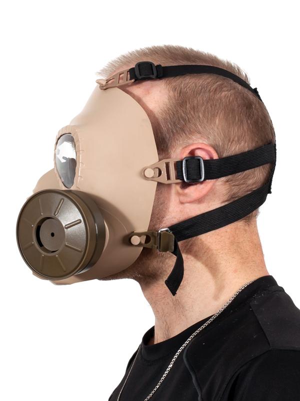 Полнолицевая маска-респиратор для страйкбола