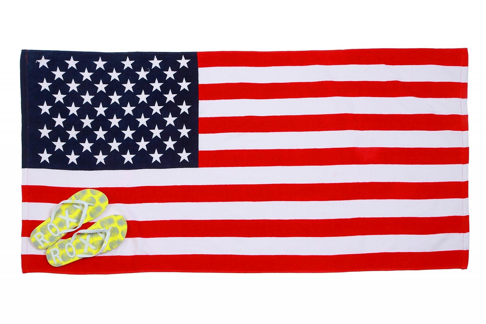Заказать оптом полотенца флаг США можно по выгодным ценам