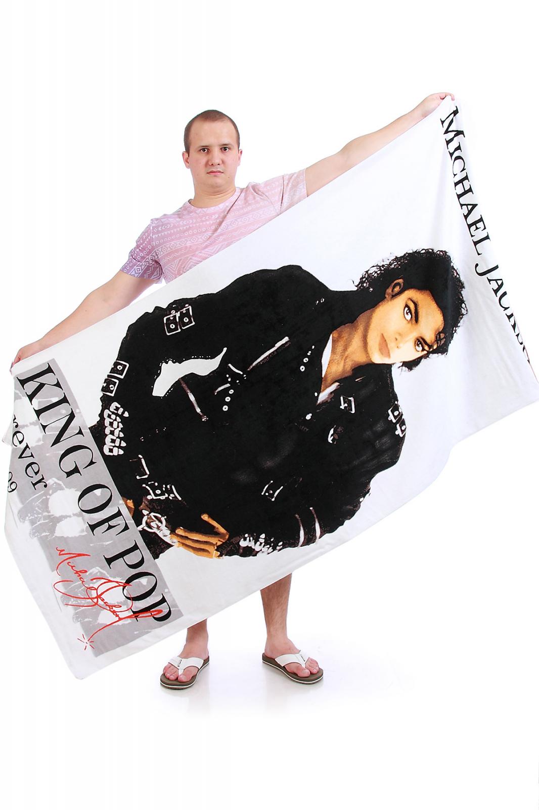 Полотенце Майкл Джексон - купить онлайн в интернет-магазине