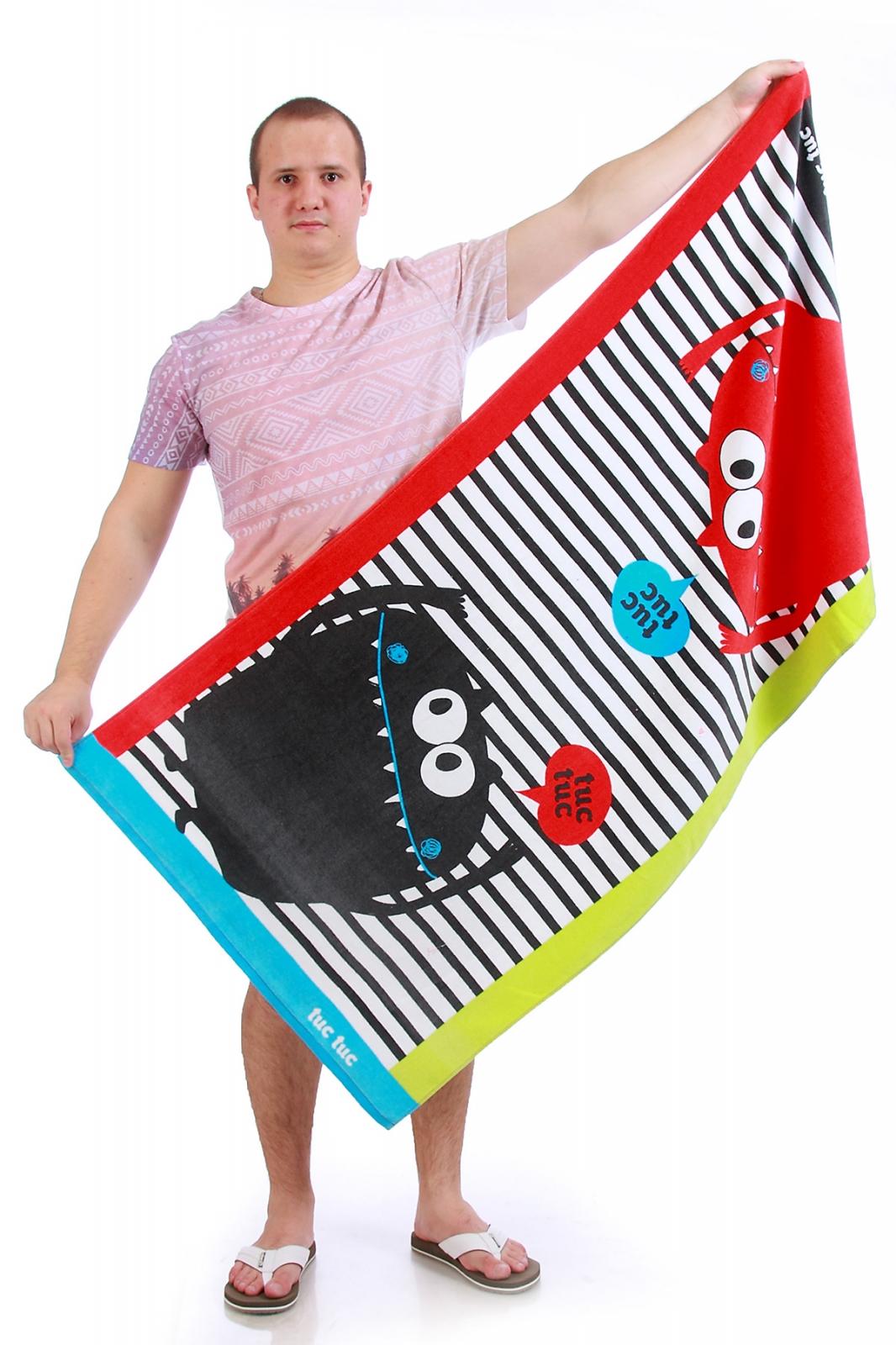 Полотенце с рисунками - купить онлайн в интернет-магазине