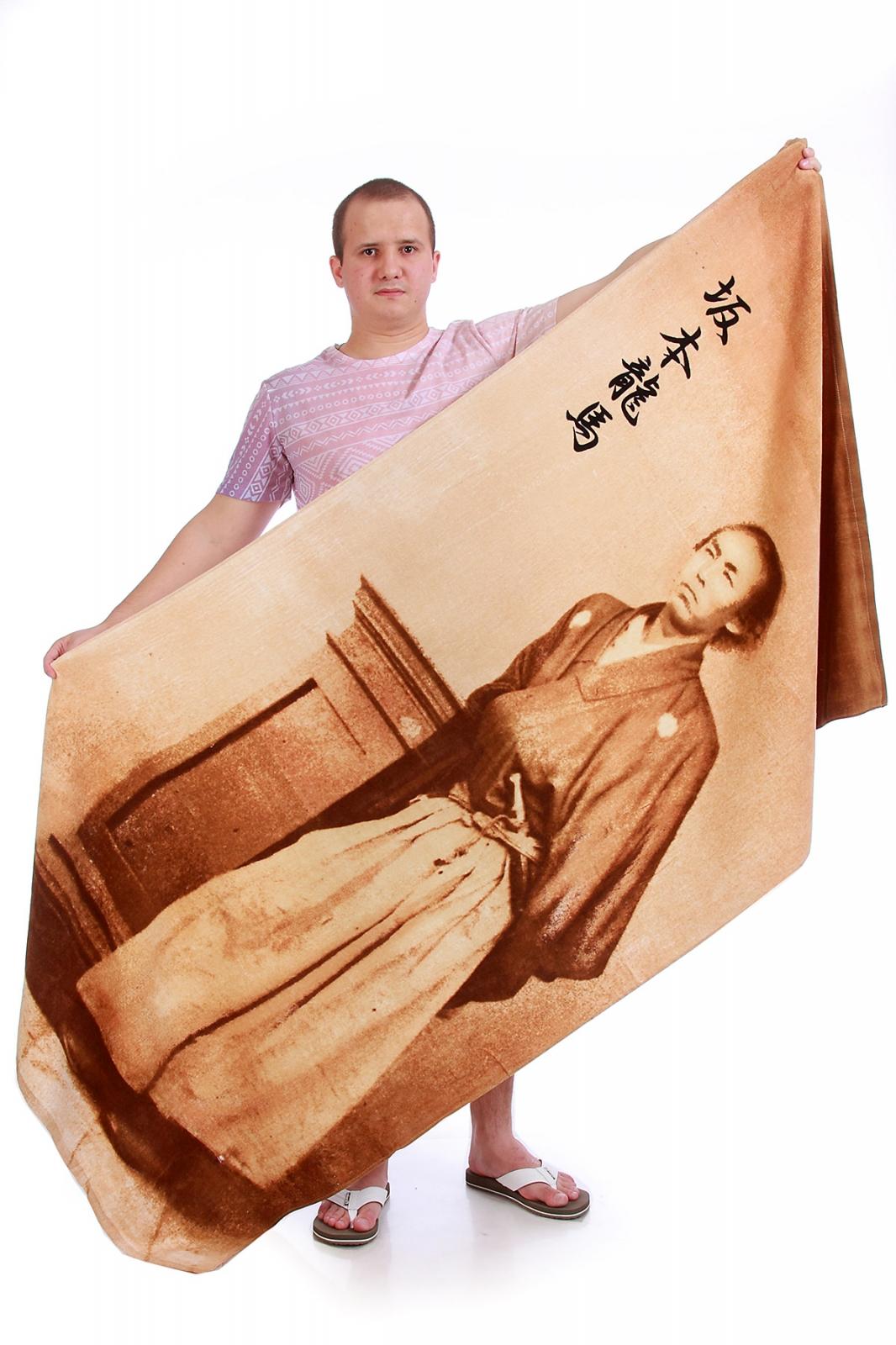 Полотенце с самураем - купить в интернет-магазине