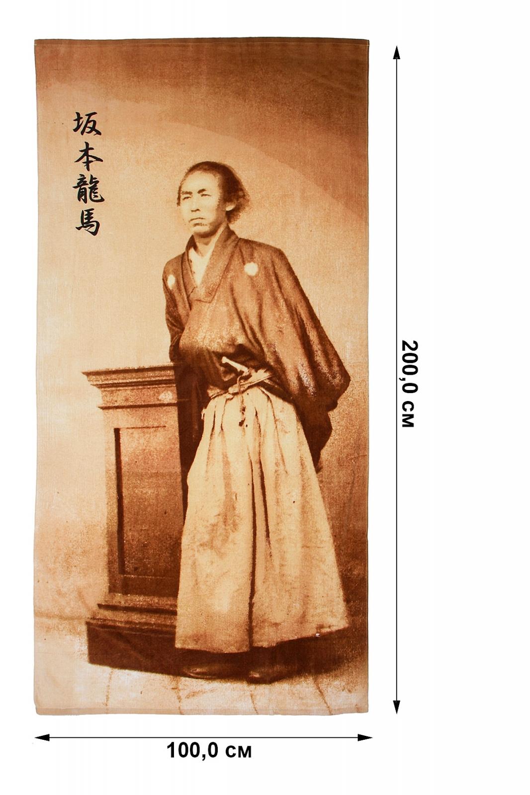 Полотенце с самураем - купить с доставкой
