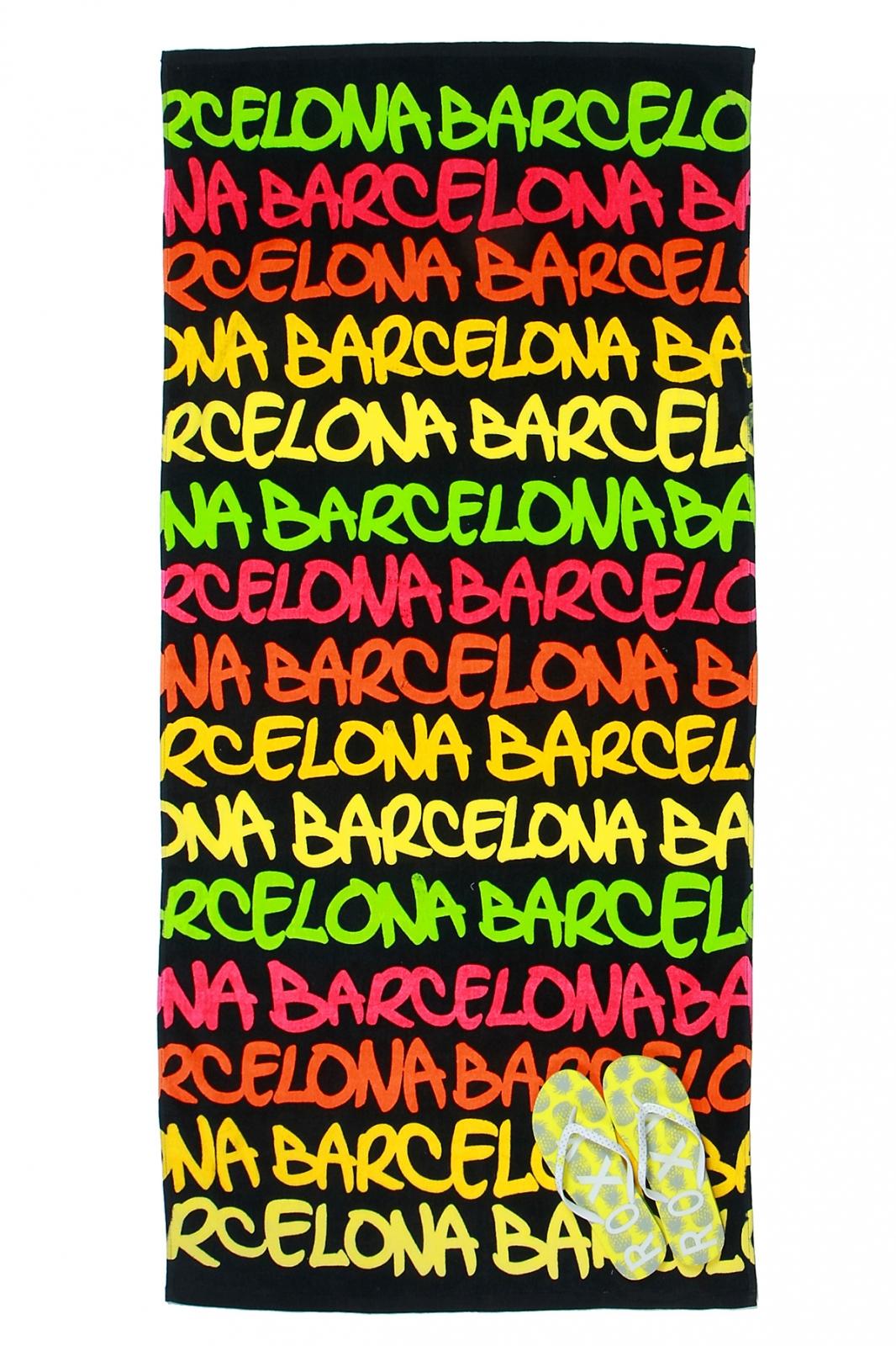 Заказывайте полотенца цветные Барселона оптом со скидками