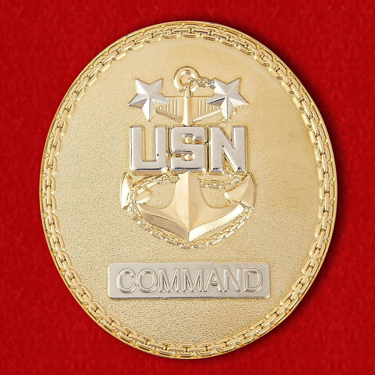 Presented For Excellence CMDCM (SWIAW) Gari Mendus USS Essex (LHD-2) Challenge Сoin