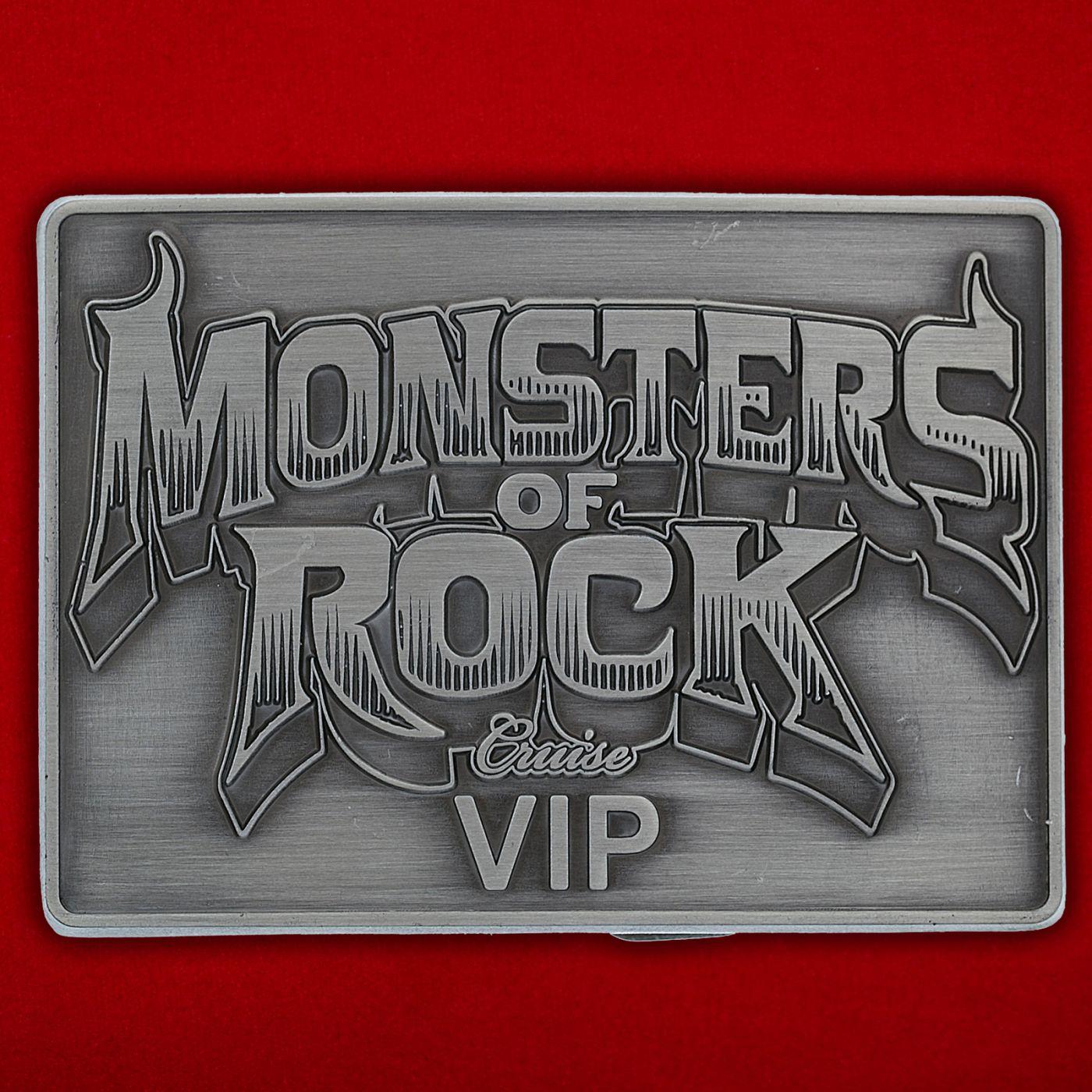 "Пряжка для ремня ""Monsters of Rock"""