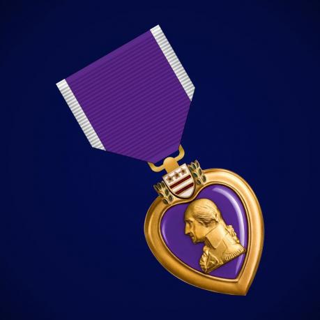 Пурпурное сердце - медаль США