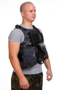 Разгрузочный жилет снайпера (Kryptek Black)