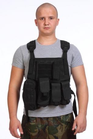 Разгрузочный жилет SWAT (черный)