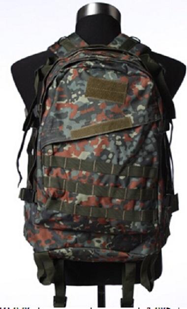 Рейдовый рюкзак немецкий камуфляж