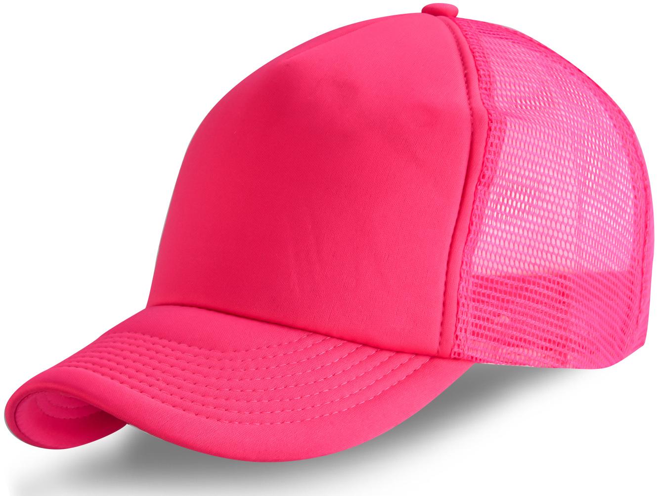 Розовая кепка с сеткой - купить в интернет-магазине с доставкой