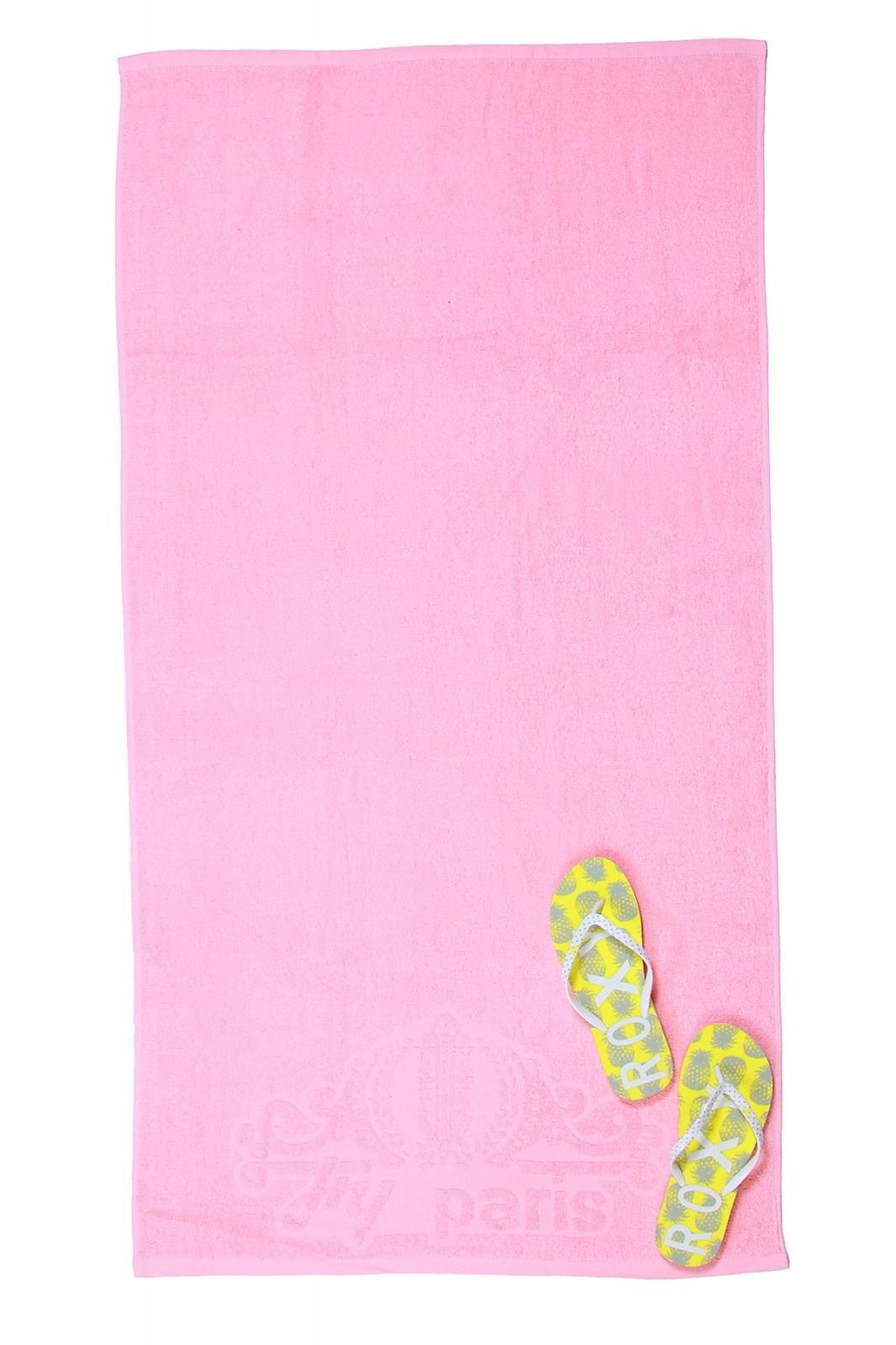 Оптовые поставки розовых махровых полотенец с доставкой