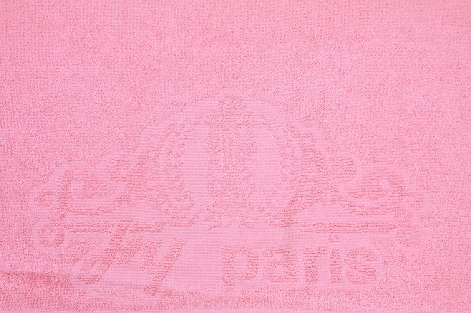 Заказать розовое махровое полотенце