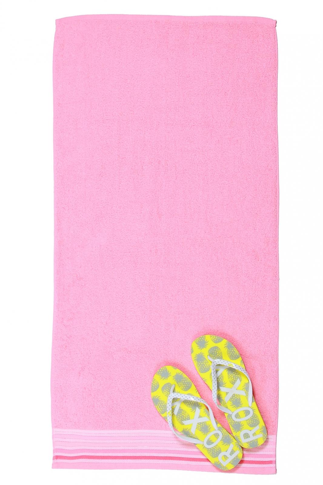 Высококачественное розовое полотенце для пляжа и дома